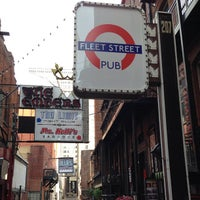 Photo taken at Fleet Street Pub by Alan B. on 6/6/2013