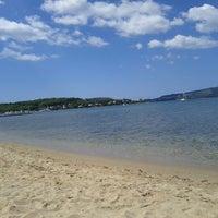 Photo taken at Spiaggia di Mugoni by Carla P. on 8/21/2013