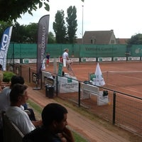 Photo taken at Tennis Club Duinbergen by Jeroen B. on 7/26/2013