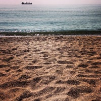 Photo taken at İğneada Plajı by Işıl Ç. on 7/28/2013
