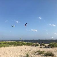 Photo taken at Plumb Beach by Chris on 8/22/2017