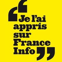 Photo taken at France Info by Erwann G. on 5/12/2014