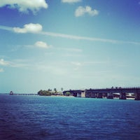 Photo taken at Pigeon Key by Kelly S. on 4/24/2013