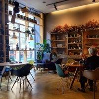 Photo taken at La Bohème Café by Lucie P. on 9/16/2015