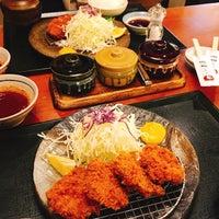 Photo taken at とんかつ 玉藤 清田店 by black on 4/28/2018