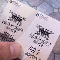 Photo taken at Regal Cinemas Goldstream 16 & IMAX by Andrew C. on 5/4/2013