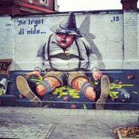 Photo taken at Graffiti Wand by Jessica D. on 10/14/2013