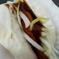 Photo taken at Peking Duck Sandwich Stall by Joanna N. on 7/10/2014