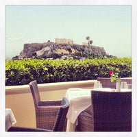 Photo taken at GB Roof Garden Restaurant by Christophe C. on 6/5/2013