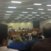 Photo taken at Plenário Câmara Municipal De Maringá by Carlos Santana on 8/8/2014