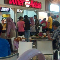 Photo taken at Food Court Margo City by Dimas M. on 11/10/2012