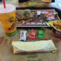 Photo taken at Taco John's by Edgar Z. on 1/6/2014