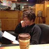 Photo taken at Caribou Coffee by Chas P. on 10/26/2013