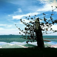 Photo taken at Pattaya Beach Front by Karnez K. on 8/23/2014