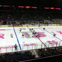 Photo taken at Spokane Veterans Memorial Arena by Amanda F. on 2/23/2013