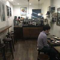 Photo taken at Frisson Espresso by Davide C. on 5/13/2017