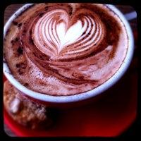 Photo taken at King Kong Coffee by Sarah M. on 2/26/2013
