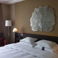 Photo taken at Sheraton Bratislava Hotel by Hosea L. on 10/5/2012
