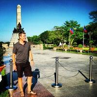 Foto tomada en Rizal Park por Michelle S. el 3/18/2013