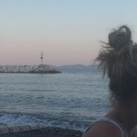 Photo taken at Psaropouli beach by Areti S. on 7/17/2015