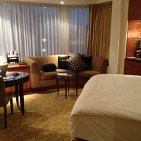Photo taken at The Park Tower Knightsbridge by Nicholas K. on 9/29/2012