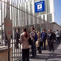 Photo taken at Siège de la Banque Postale by Bertrand D. on 4/17/2014