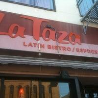 Photo taken at Cafe La Taza by Alberto on 1/8/2013