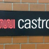 Photo taken at Castro MUNI Metro Station by Alberto on 1/12/2013
