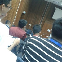 Photo taken at Lecturer Theater 4 (LT4) UiTM Perlis by Muhammad S. on 8/3/2015