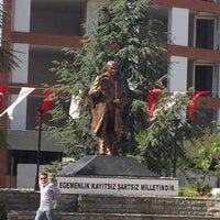 Photo taken at Cumhuriyet Meydanı by Özge İ. on 5/18/2013