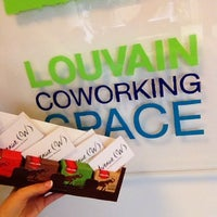 Photo taken at Louvain Coworking Space by Happy Curieuse on 9/9/2015