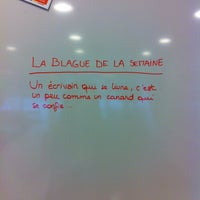 Photo taken at Louvain Coworking Space by Happy Curieuse on 10/5/2015