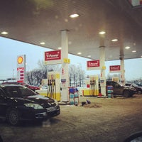 Photo taken at Shell by Юрий S. on 12/1/2012