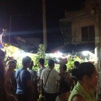Photo taken at Dangwa Flower Market by Marc R. on 3/26/2013