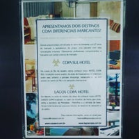 Photo taken at Lagos Copa Hotel Rio de Janeiro by Cassio M. on 9/8/2015