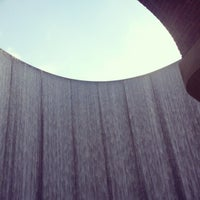 Photo taken at Gerald D. Hines Waterwall Park by Julia Y. on 12/24/2012