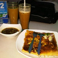 Photo taken at Amaliun Food Court by Fera S. on 5/27/2013