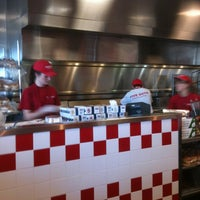 Photo taken at Five Guys by Peggy F. on 4/25/2013