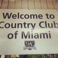 Photo taken at Country Club of Miami by Marios Soldiers w. on 8/26/2013