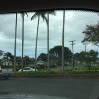 Photo taken at Kailua Fountain by D C. on 3/8/2017