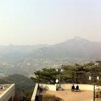 Photo taken at Bukak Palgakjeong by Sun-young L. on 3/9/2013