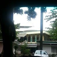 Photo taken at Masjid Shalahuddin Dirjen Pajak by AriA on 12/4/2014
