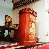 Photo taken at Masjid Shalahuddin Dirjen Pajak by AriA on 8/14/2014