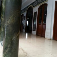 Photo taken at Masjid Shalahuddin Dirjen Pajak by AriA on 4/14/2014