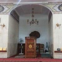 Photo taken at Masjid Shalahuddin Dirjen Pajak by AriA on 11/7/2014