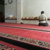 Photo taken at Masjid Shalahuddin Dirjen Pajak by AriA on 4/23/2014
