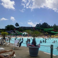 Photo taken at Ocean Breeze Waterpark by Jennie M. on 7/4/2013