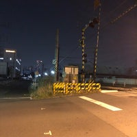 Photo taken at 千若町踏切 by route507 on 3/14/2018