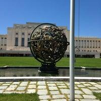 Снимок сделан в United Nations Office at Geneva пользователем Jake C. 6/3/2013