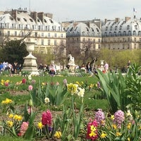 Photo taken at Tuileries Garden by Jill C. on 4/15/2013